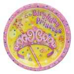 BIRTHDAY PRINCESS PLATES