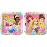 DISNEY FANCIFUL PRINCESSES PLATES