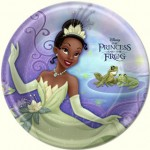PRINCESS AND THE FROG PLATES